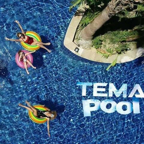 Antalya Lara'da havuzlu sahile yakin lux 1+1 daire