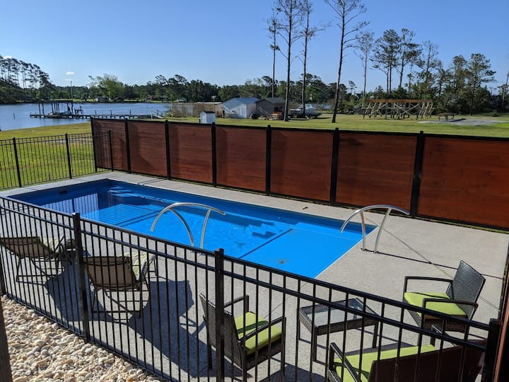 Social Distancing Paradise w/ Private Pool & Dock