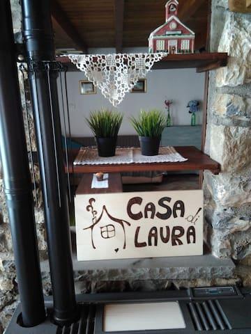 Casa di laura - Castiglione Chiavarese - Hus