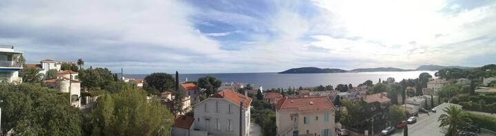 Magnifique vue sur la mer