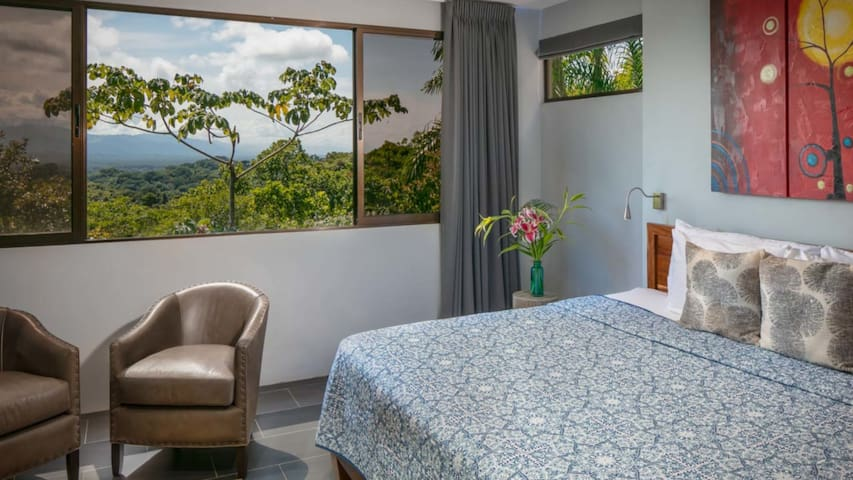 Master bedroom, one 2 with spectacular views