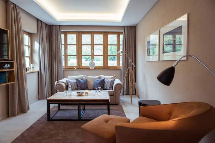 Donau Maisonette-Suite in den Passau Suites