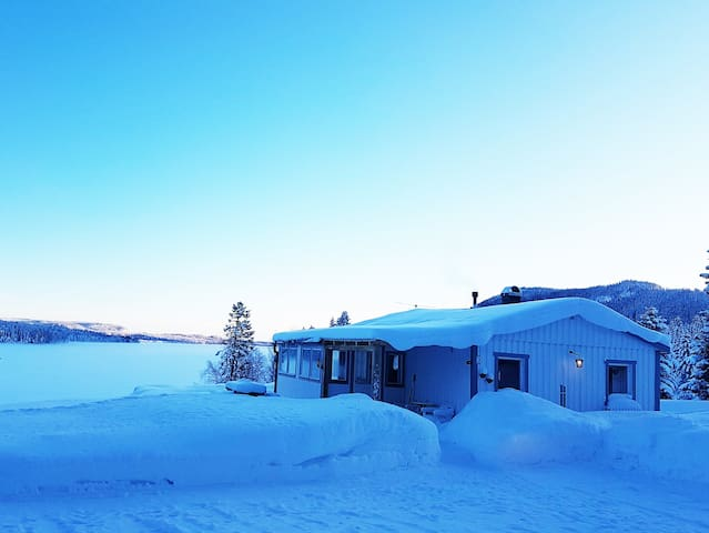 winter paradise:) close to lake!