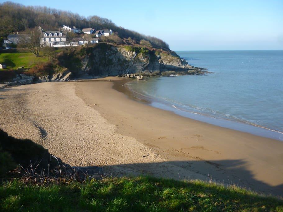 Aberporth west beach