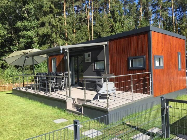 Murner See: Tolles Mobilheim mit Luxus-Ausstattung