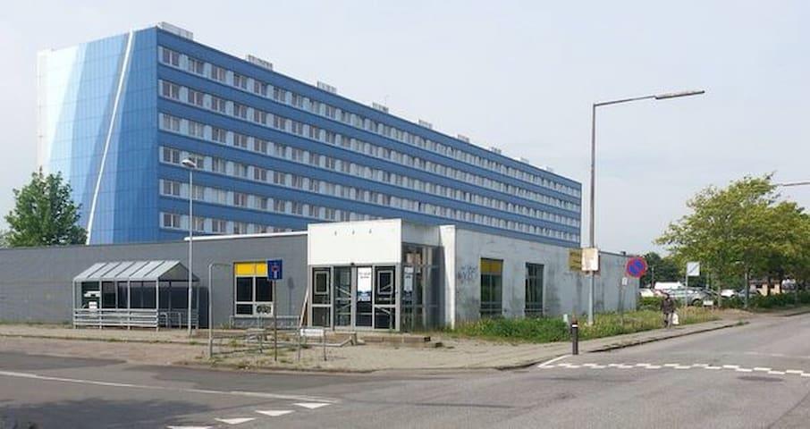 Fin 2 værelses lejlighed med udsigt - Arhus - Apartamento