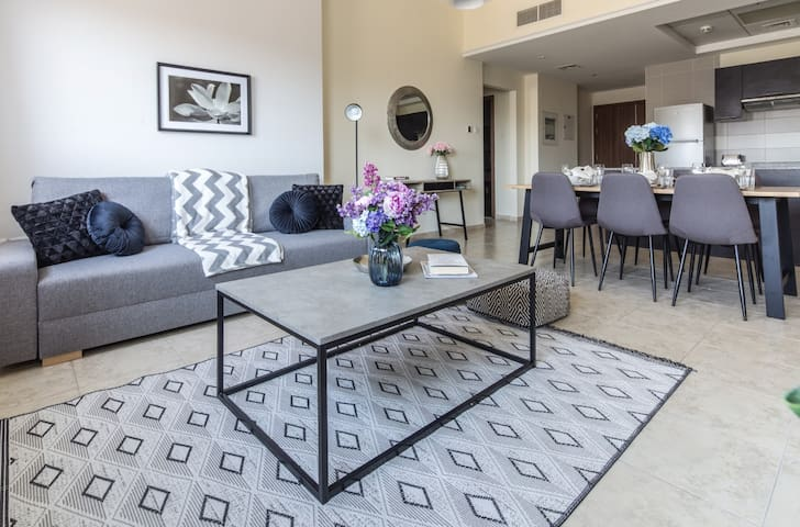 Top Rank 2BR in Trendy Jumeirah Village Triangle!