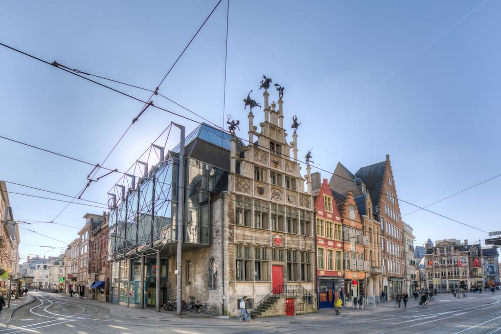 Historical building in the hart of Ghent