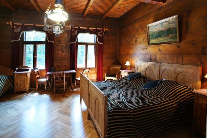 Dom Muzealny Ornak: Pokój Szafranowy-Saffron Room