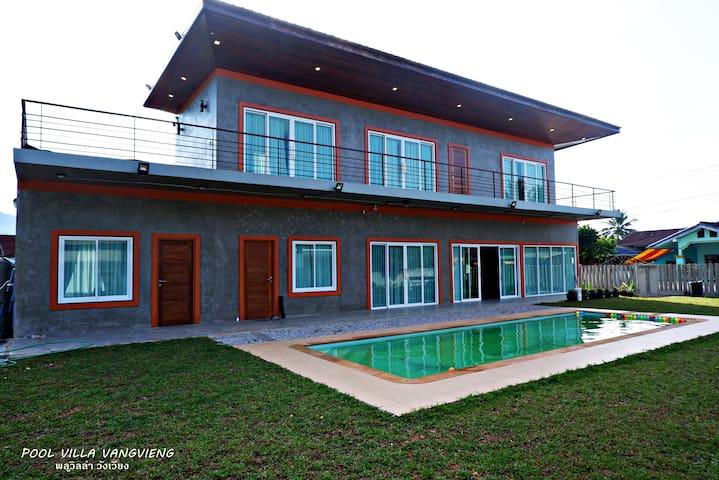 Pool Villa Vangvieng
