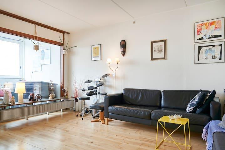 A bedroom in my big apartment -in Aarhus V.