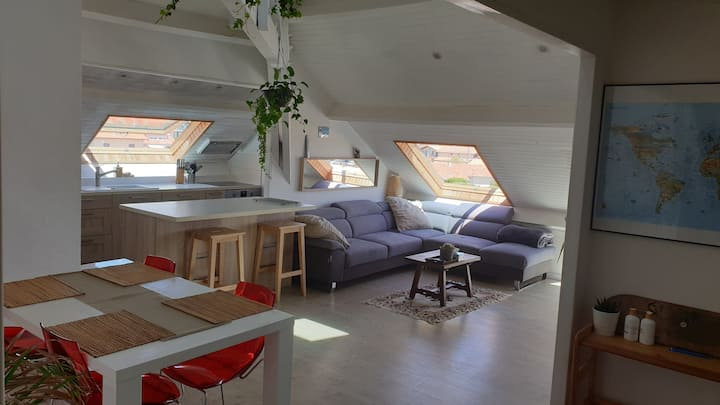 Apartment for six people at the ocean front