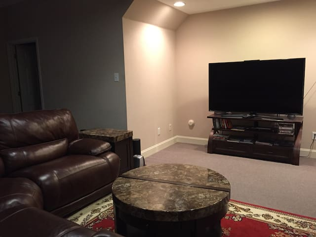 Spacious Private basement with parking