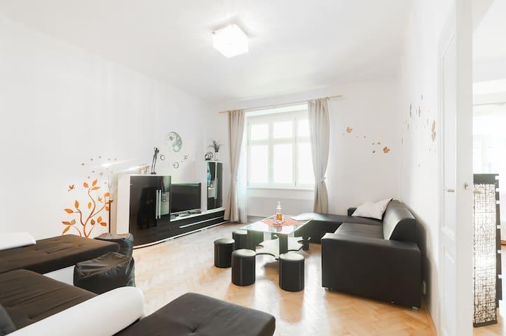Prostorný Apartmán v centru Prahy