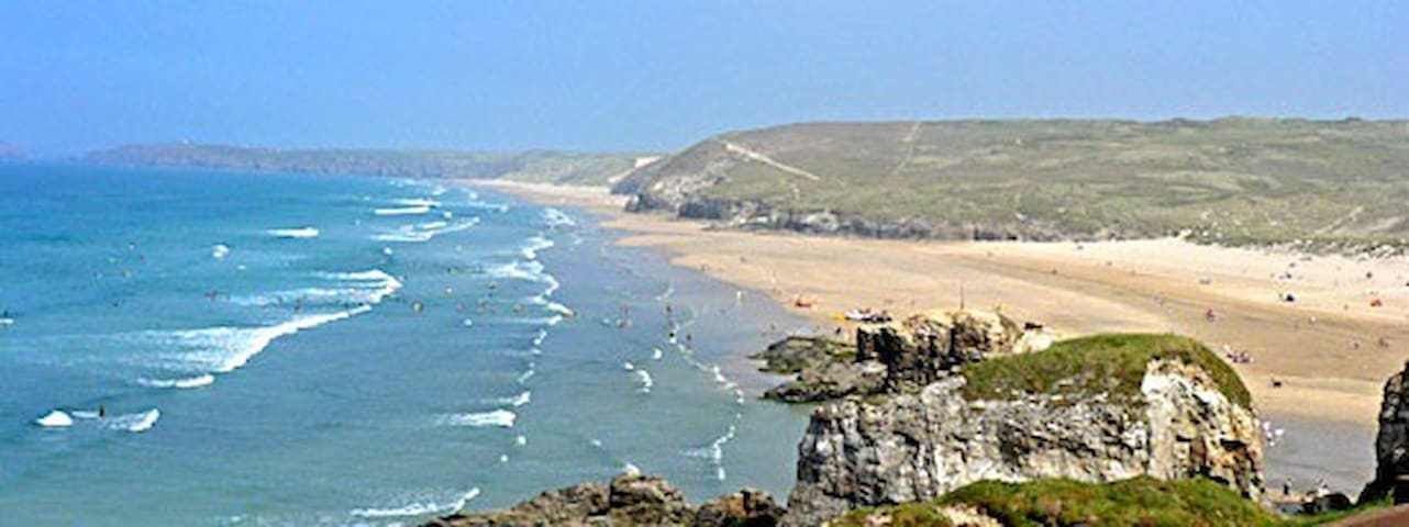 Affordable caravan seaside holiday at Perranporth - Perranporth - Andre