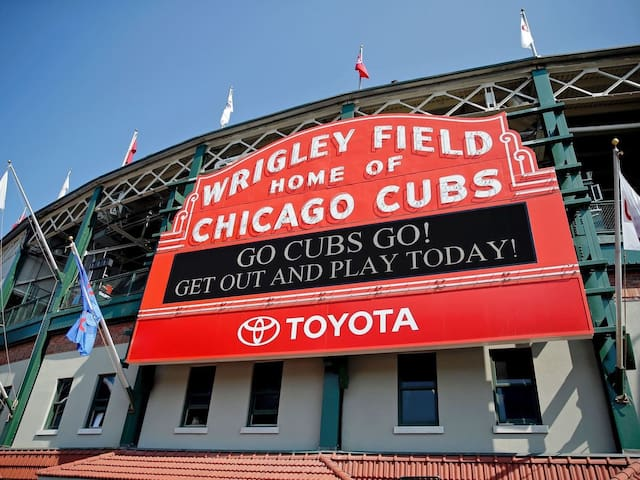 It's Wrigley Field!