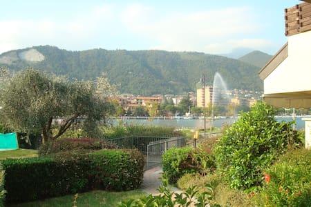 Casa vista lago, giardino e piscina - Paratico
