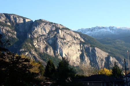 Downtown Squamish suite with view