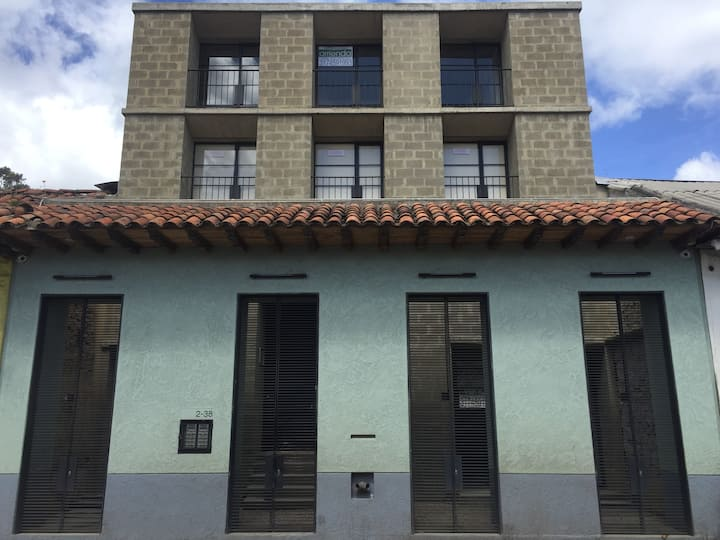 Apartamento nuevo, Centro Histórico de Bogotá.