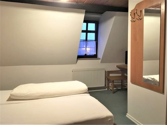 Gasthaus Löwen, (Sinsheim), Doppelzimmer mit Dusche und WC