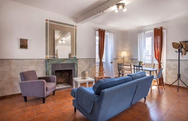 E Case Pasqualine - Casa Davia, apartment in downtown of l'Ile-Rousse