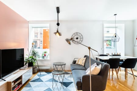 Relax in a Contemporary Apartment in Central Oslo