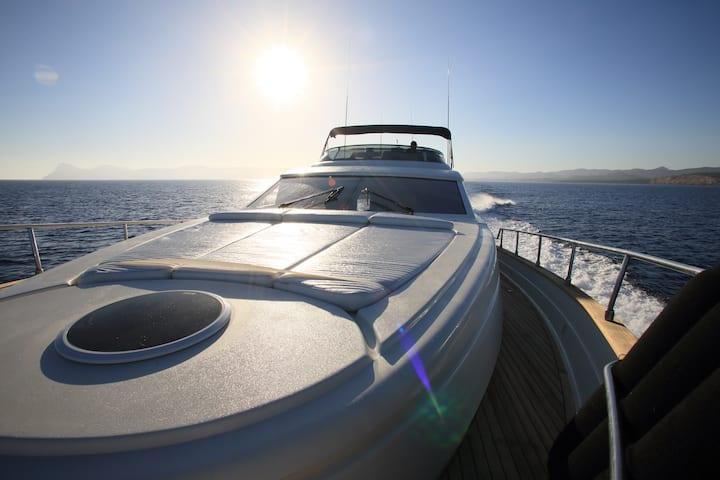 Lujoso yate de 20 metros en Ibiza