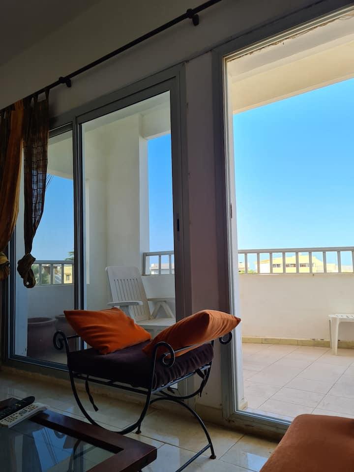 Appartement 3 chambres à 150m de la plage de Ngor