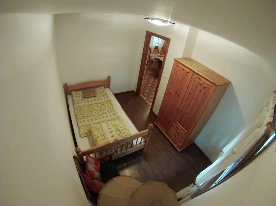 Domek 16B sypialnia 2