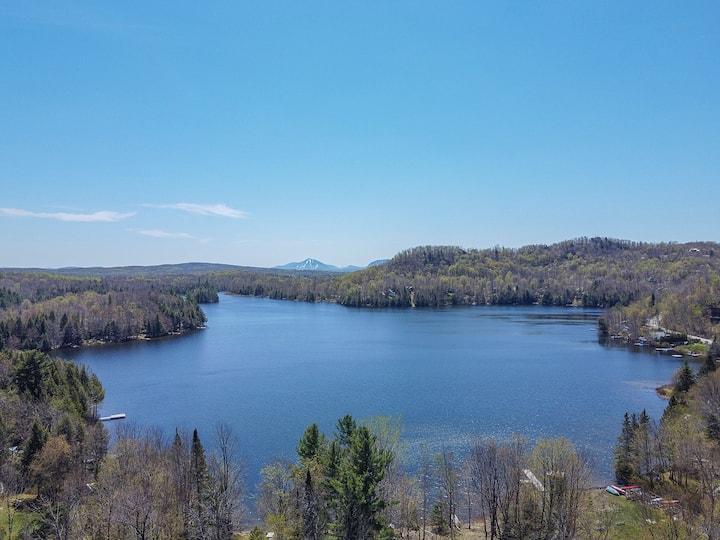 Chalet en Flanc de Montagne -Accès au lac