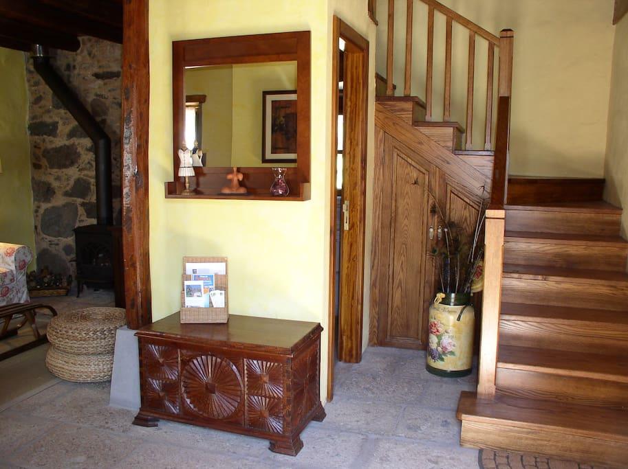 El Pajar de Casa de La Virgen - Entrada a la casa