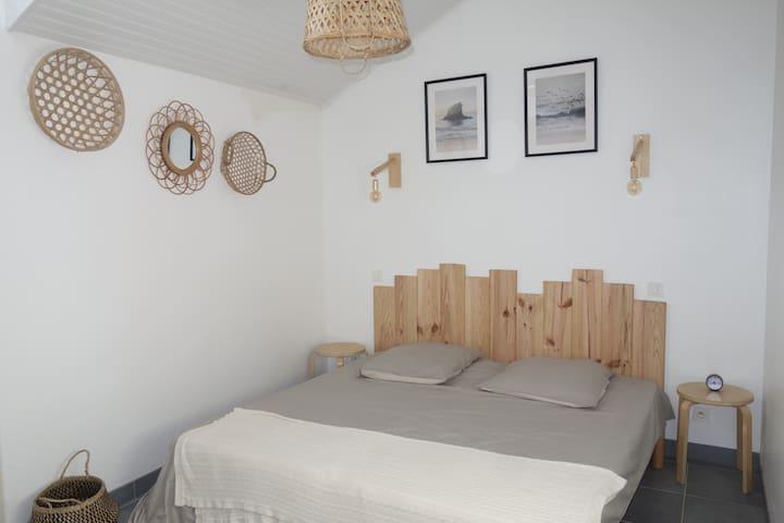 chambre lit 190x180