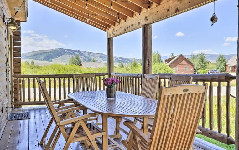 NEW! Classic & Cozy Granby Home w/Ski Shuttle