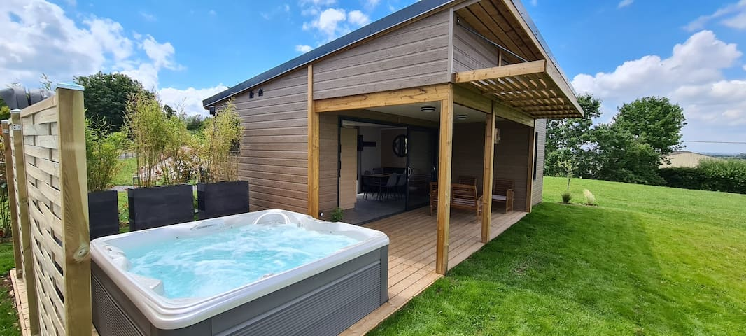 Cottage Style, Jacuzzi Privatif, 4 personnes