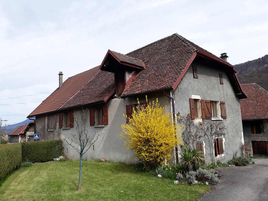 La Maison -Ancienne Ferme Savoyarde