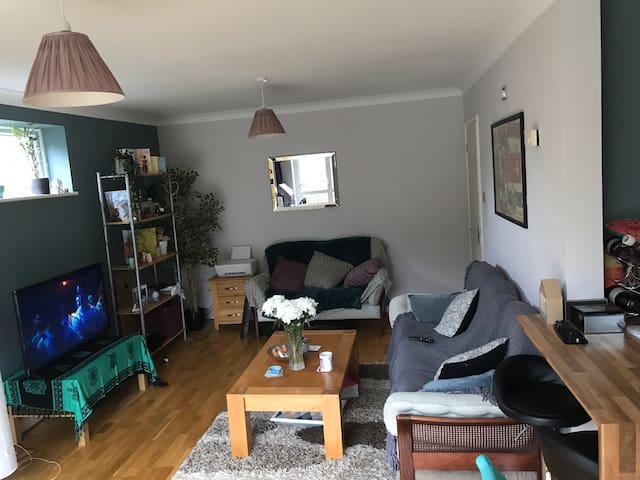 Room in cosy 2 bedroom flat