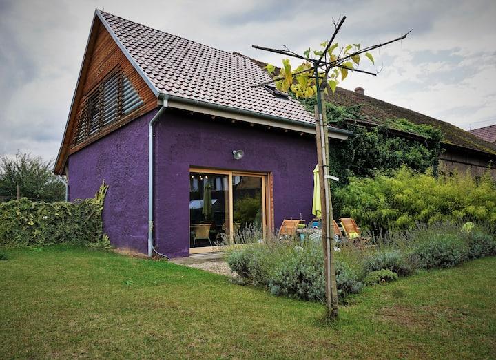 Maison indépendante (la Distillerie) avec jardin.