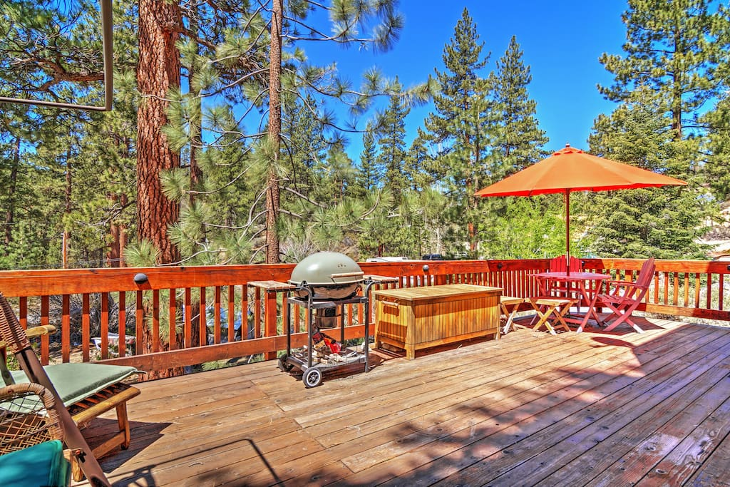 Relaxing 2br fawnskin cabin chalet in affitto a fawnskin for Cabine di noleggio in big bear ca