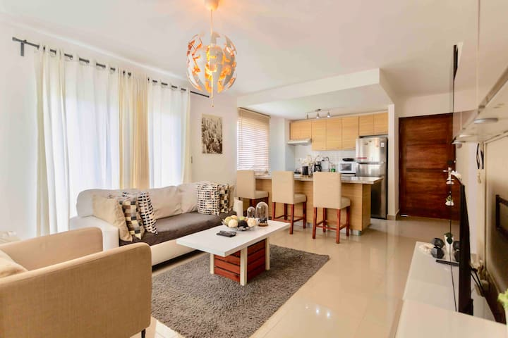 Modern, Cozy and Relaxing Apartment in Punta Cana!