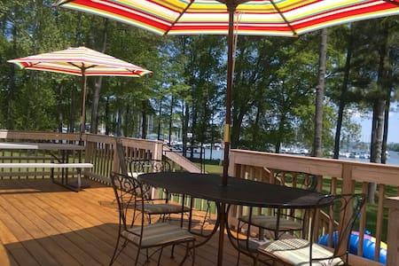 Lakefront getaway - Guntersville - Maison