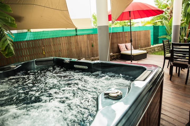 Appartement L'Oasis du Lagon - La Saline-Les-Bains - Byt