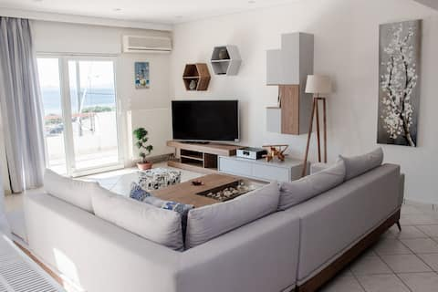 Luxury seaview apartment by the beach AMA-19718