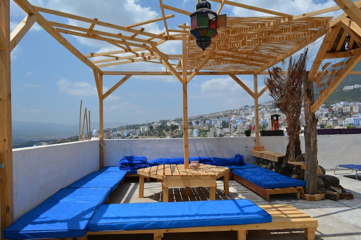 AliBabaApartHostel,Privatroom2-4Person, Panorama!