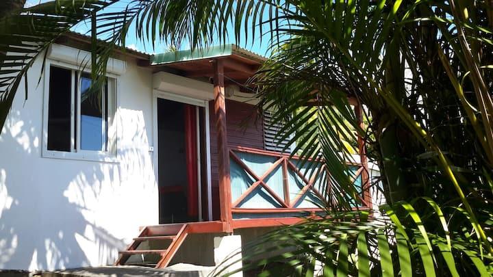 bungalows avec vue sur les saintes