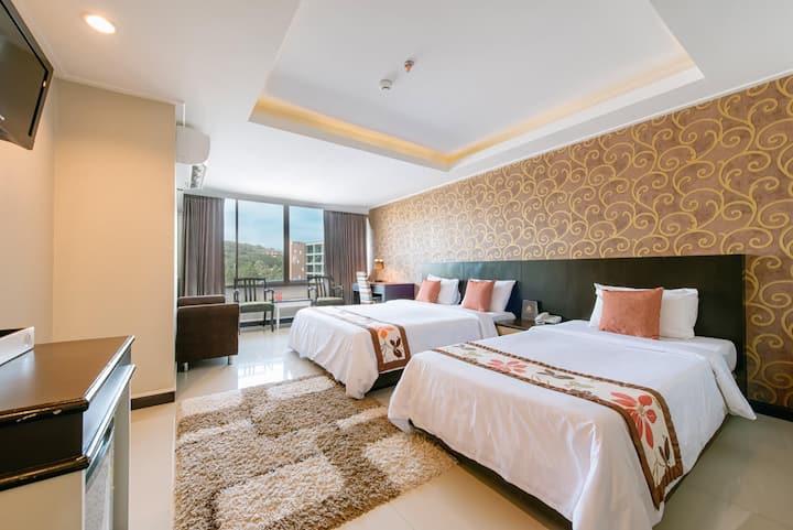 The Singora Hotel Super Deluxe.