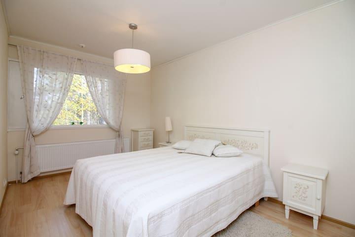 "Bedroom 2 in cottage ""Taipalsaari House"" in Lappeenranta"