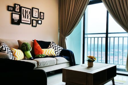 Luxury in The Sky @ Sky Breeze 1.3 - Johor Bahru - Apartament