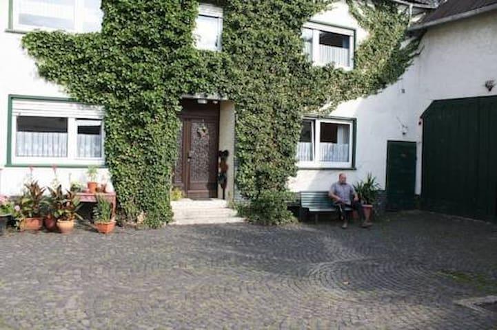 Ferienwohnung im Naturpark Nassau - Berg - Apartment
