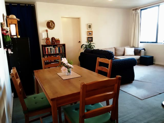 Open living & dining room
