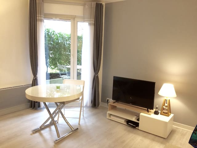 1 bedroom appartment and its small terrace